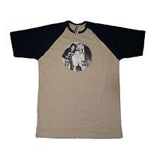 Prodigy Beige Baseball T-Shirt Band Keith Flint Maxim Liam Howlett Rob Holliday