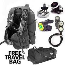 New listing SoprasTek Bcd Balanced Regulator Console Scuba Diving Free Travel Bag Package