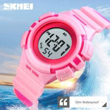 SKMEI CHILDREN'S ALARM AUTO WEEK DIGITAL WRISTWATCH WATERPROOF LED WATCH 1485 2