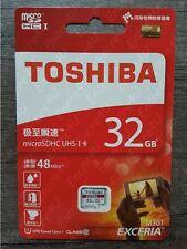 Carte Mémoire 32 Go Gb Micro SDHC TOSHIBA - Existe en 4 8 16 ou 64 Go Gb Giga