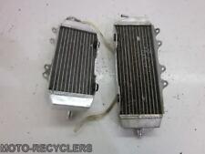 08 KX250F KXf250 Oversize left + right radiator    74