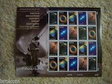 Hubble Space Telescope Full Pane Unused Stamps #3384-88