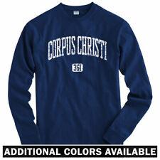 Corpus Christi 361 Long Sleeve T-shirt - Texas Selena Mexican - LS - Men / Youth