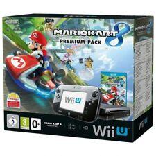 Nintendo Wii U - Konsole Premium Pack + Mario Kart 8 #schwarz (mit OVP)
