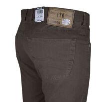 JOKER Jeans | Harlem Walker ( Comfort Fit ) dunkelbraun Gabardine mit STRETCH