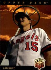 1993 Upper Deck Baseball Card Pick 1-250