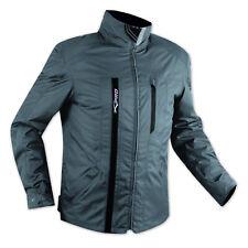 Scooter chaqueta Moto Impermeable revestimiento extraíble CE protectores Azul