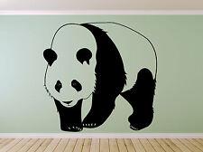 Panda Bear Asian Animal. Wall sticker decal art. Nursery, Playroom, Bedroom.