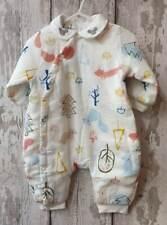 Gorgeous Baby Boy / Baby Girl Padded Pram Suit - Squirrel Design.
