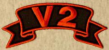 Patch Aufnäher V2 Biker Hot Rod Custom PINUP SKULL RETRO VINTAGE ROUTE66 USA 25A