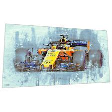 McClaren Formula 1 Wall Art - Racing car Graphic Art Poster