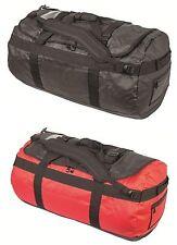 IMPERMEABILE TRAVEL Spalla Zaino Dry Bag Zaino PACK NERO ROSSO 65L 90L NUOVO