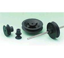PULEGGIA in miniatura RUOTE MODELLISMO MOTORE PULEGGIA RUOTE 2mm diametro foro Push Fit