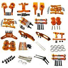Aluminum Alloy metal Upgrade DIY parts Orange Fit For 1/10 HPI WR8_flux Rc Car