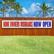 Home Insurance Now Open Advertising Vinyl Banner Flag Sign Large Huge Xxl Size