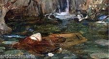 JOHN WILLIAME WATERHOUSE ORPHEUS  REALISM ART GICLEE  PRINT  FINE CANVAS