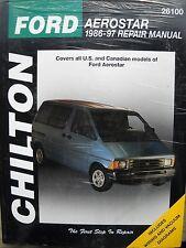 Reparaturanleitung - Ford Aerostar 1986-97 (US Ausgabe) - repair manual handbook