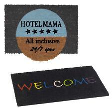 Polyamide Coconut Ecomat Rubber Backing Washable Doormat Rug Carpet