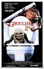 GHOULIES II 2 Movie Poster Horror Sci Fi