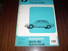 Reparaturanleitung Triumph 2000 auf Deutsch