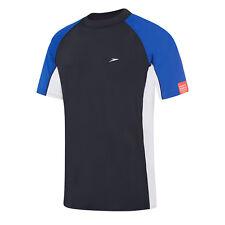 NEW Speedo Split Relaxed Fit Sun Shirt / Rashie 7733A/6476 - Mens Swimwear