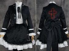 A-310 S/M/L/XL/XXL Vocaloid Miku Secret Police cosplay disfraz set costume Dress