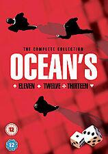 OCEAN'S 11 TRILOGY DVD TRIPLE PACK PART 1 2 3 Eleven Twelve Thirteen 12 13 Seald
