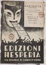 ASTRO MARI MARIQUITA NELLY A. ROSSI MUSICA SPARTITI