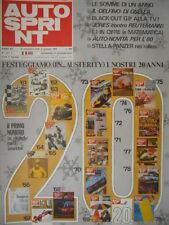 Autosprint 52 1979 Tutte le F.1 mondiali. Rassegna auto e moto staccabile sc.5