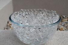 Cancellare ACQUA Aqua Cristallo Suolo Bio Gel Sfera Perline Cerimonia Centrotavola Borse UK 10g