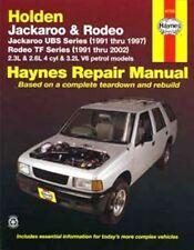 NEW HAYNES REPAIR MANUAL: HOLDEN JACKAROO UBS RODEO TF