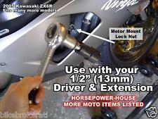 MOTOR MOUNT LOCK NUT SPANNER SOCKET @ RVT1000R RC51 VTR1000F CBR1000RR CBR600RR