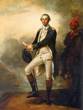 Handmade Oil Painting repro John Trumbull George Washington and William Lee