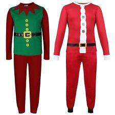 ec6851b0622c3 Enfants Filles Garçons Noël Père Noël   Costume Elfe Noël Pyjama Cauchemar  ...