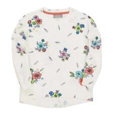 Boboli Niñas Jersey Floral blanco lana Talla 92 - 164