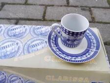 Servizio di tazzine da caffè per 6 persone in porcellana NUOVO
