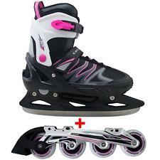 Cox Swain 2 in 1 Kinder Skates-/Schlittschuh -Joy- LED Leuchtrollen, Abec 7