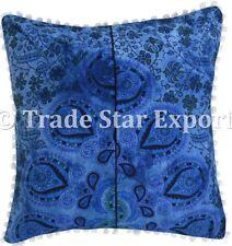 Indian Tie Dye Pillow Case Set Decorative Throw Cushion Cover Boho Cotton Pillow