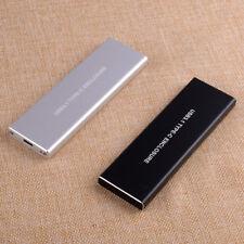 Disco Duro Externo USB3.1 Tipo-C Carcasa PCI-E NGFF Caja de NVME Caja M.2 SSD