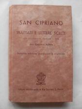AULETTA - SAN CIPRIANO TRATTATI E LETTERE SCELTE - ISTITUTO MISSIONARIO
