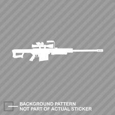 Barrett M107 Sticker Die Cut Decal sniper rifle 50 cal