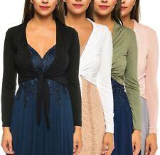 Bolero Evening Jacket Bridal Shawl for Tie Front Viscose Brand: GIA