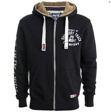 Mens Superdry Trackster  Zip Hoodie sweatshirt  hoody rrp £60