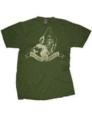Nouveau Officiel Rambo Bienvenue dans la jungle film homme rétro vert Tee T Shirt