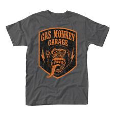 Gas Monkey Garage Shield oficial Camiseta para hombre