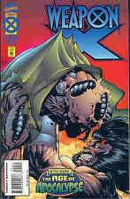 Weapon X # 4 (of 4) (Age of Apocalypse) (Adam Kubert) (USA, 1995)