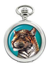 Leopard's Head Pocket Watch