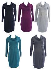 OLIAN Maternity Women's Cowl Neck Long Sleeve Dress $124 NWT