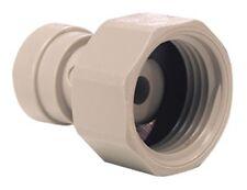 "John Guest Tap Adapter Flexible Tubing 3/4"" Bsp X 3/8"" 10mm Push Fit Connector"