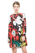 Desigual by L Long Sleeved Printed Like Dress 36-46 UK 6-18 RRP?109